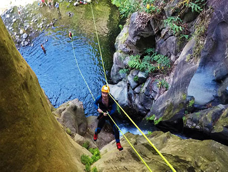 Azores Canyoning Adventure