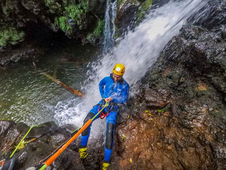 Azores Canyoning Experience