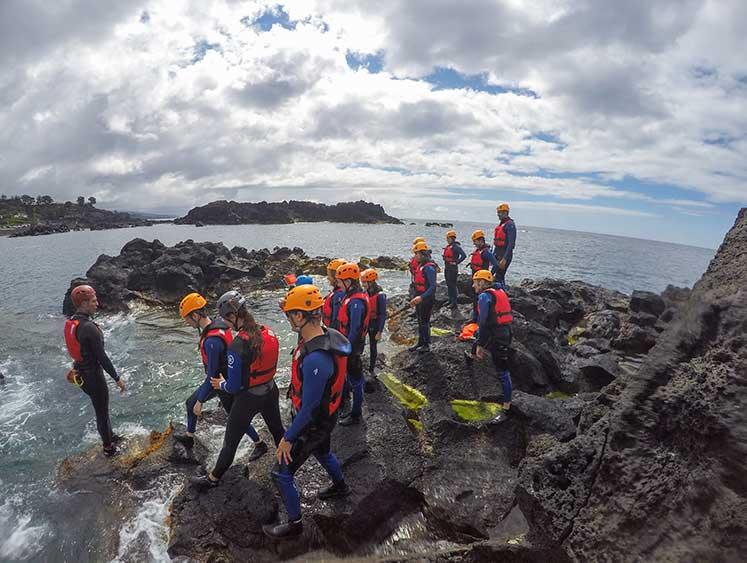 Azores Coasteering Experience